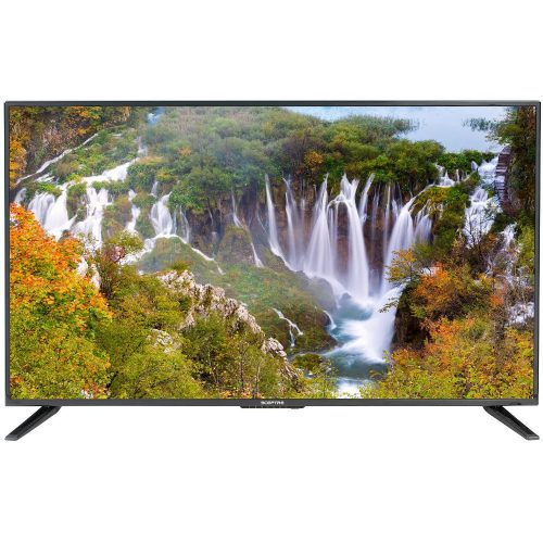 """Sceptre 43/"""" Class FHD 1080P LED TV X435BV-F Delivers riveting Visuals New"""