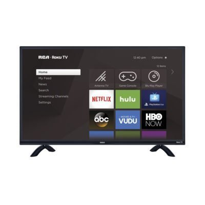 "RCA TV 40"" FHD 1080p ROKU- TV Sizes"