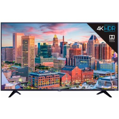 "TCL TV Roku in 43"" 4K UHD with HDR - TV-Sizes"