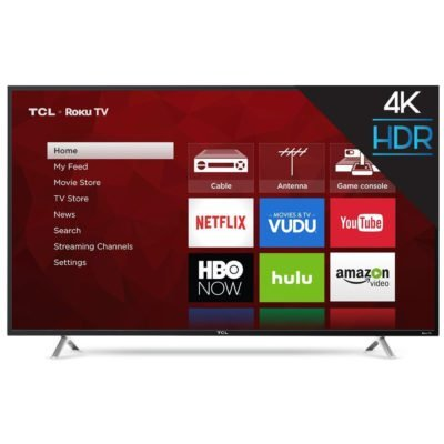 TCL 65 Inch TV 4K UHD HDR ROKU - TV Sizes